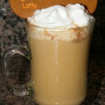 Cheapo DIY Gingerbread Latte