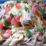 Chicken Enchilada Penne Pasta