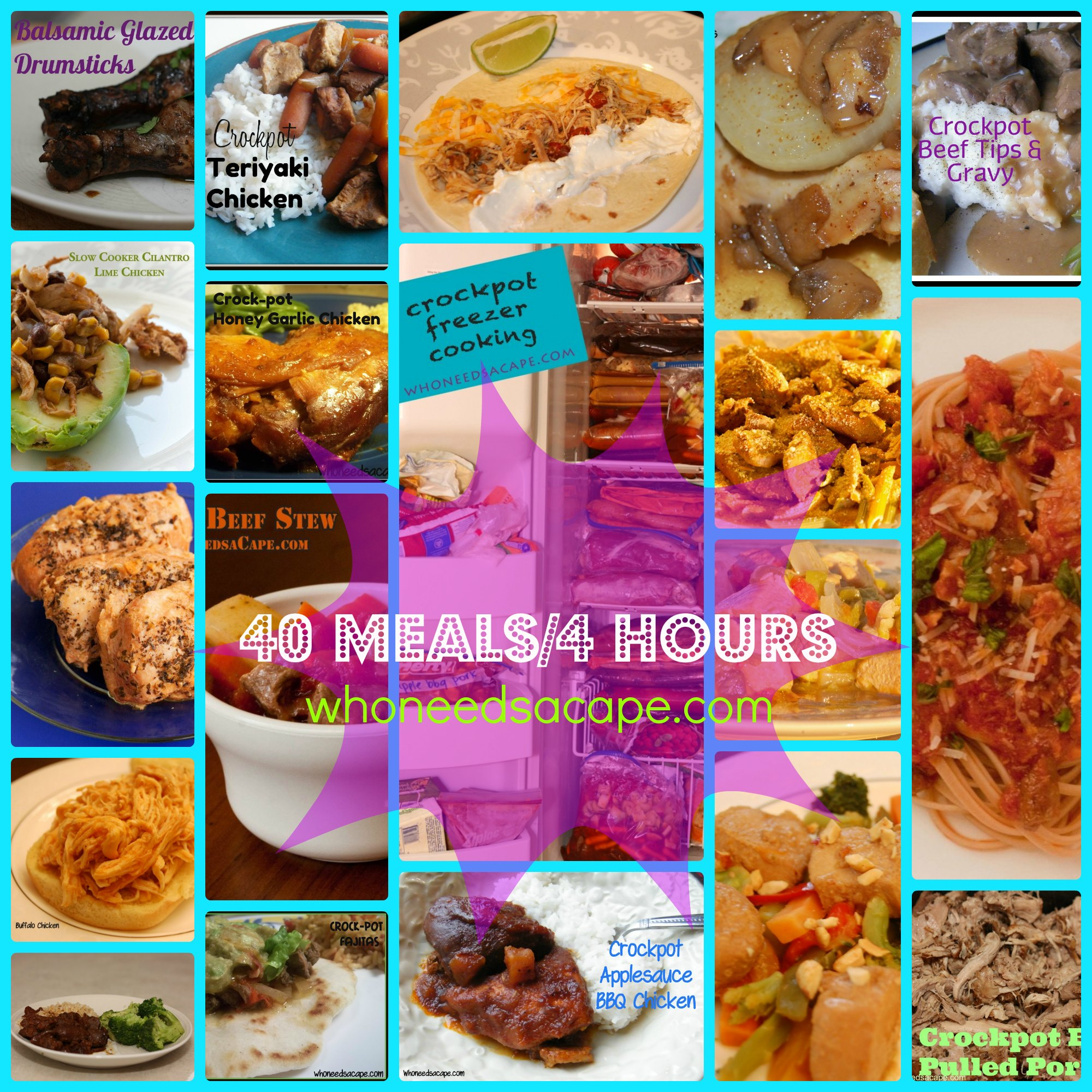 40Meals4HoursCollage