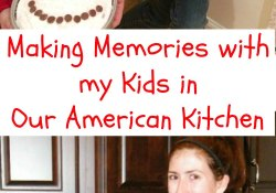 Making Memories with My Kids in Our American Kitchen   Who Needs A Cape?