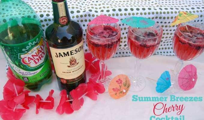 Summer Breezes Cherry Cocktail