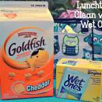 Lunchtime Clean with Wet Ones®