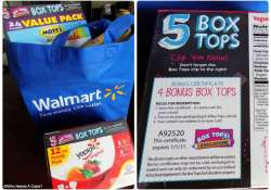 How to Help Your Family Collect Box Tops for Education is easy, we're sharing with you what we send in the mail. They can help your school earn money too.