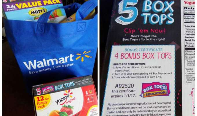How to Help Your Family Collect Box Tops for Education