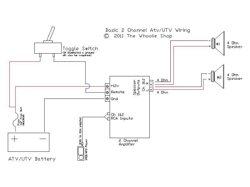 Amp Wiring For Shop Wiring Schematic Diagram