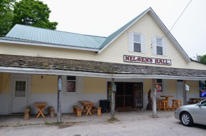 Nelsen's Hall is a must stop on your Washington Island vacation.
