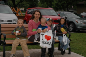 kickoff summer reading at Winneconne library