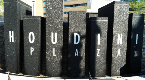 Houdini Plaza in Appleton is finally finished!
