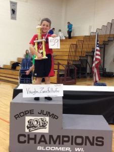 Bloomer, Wisconsin 2013 Rope Jump Champion