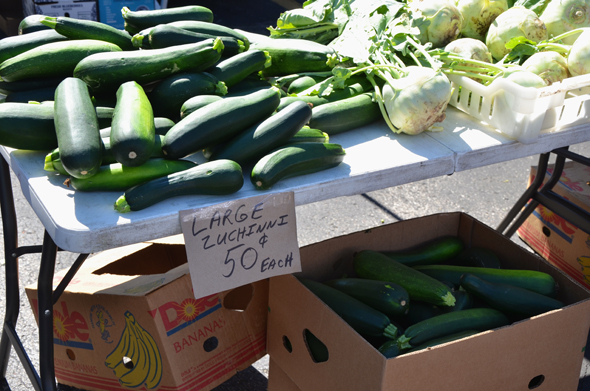 Zucchini is a tricky word to spell.