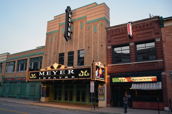 Meyer Theatre Exterior