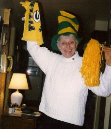 Grandma Jo Old Timer Packers Fan