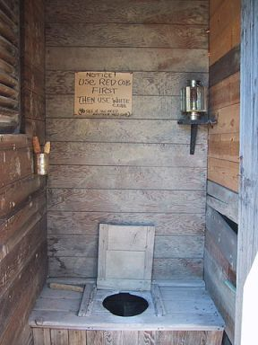 Outhouse or outdoor toilet - the john - the crapper - How Green Bay Made Wiping Our Butts Easier