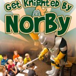 Get Knighted by Norby the Knight at St. Norbert Days
