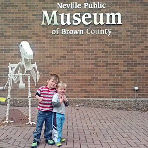 A Visit to the Neville-Public-Museum
