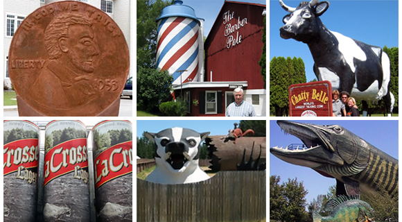 17 of the World's-Largest Things Found in WisconsinWisconsin