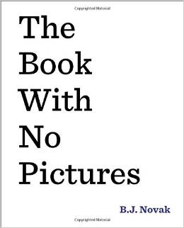 the book with no pictures-at the readers loft
