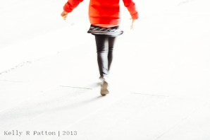 Kelly R Patton | Little Girl in a Red Coat