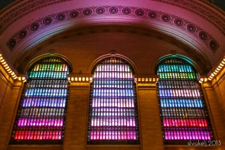 Stacey Leece Vukelj | Holiday Lights at Grand Central