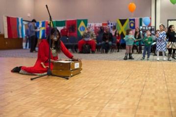 "Bangladeshi Student Association Member Shanjida Jui said ""We are performing a Bengali song 'Modhu Maloti.'"" (Photo By: Santiago Pelaez) Many other organizations put together a performance showcasing traditional dances, music and chants."