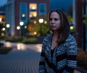 Megan Sulpizi shared her story on Humans of UConn to overcome the stigma against mental health illnesses, she said. (Image Credit: Chris Stumper