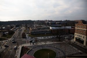 The main square in Storrs Center (Image Credit: Steve Bogdan)