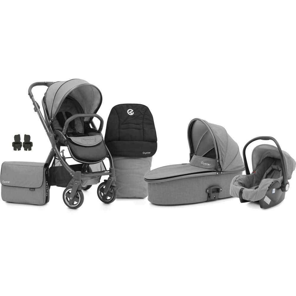 Joolz Pram Uk Price Babystyle Oyster 2 City Grey 3in1 Pram Available At W H