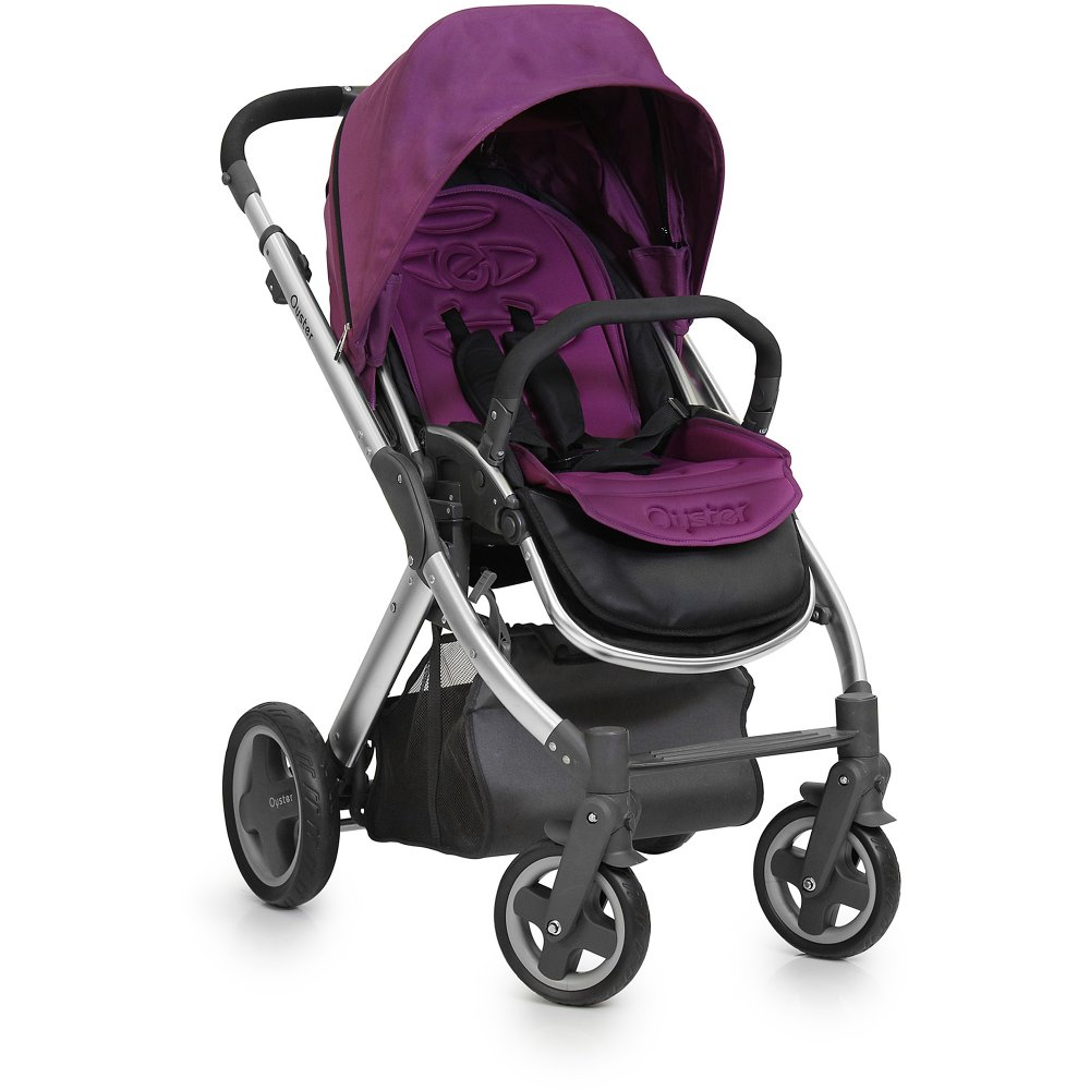 Oyster Pram Purple Babystyle Oyster Babystyle Oyster Stroller