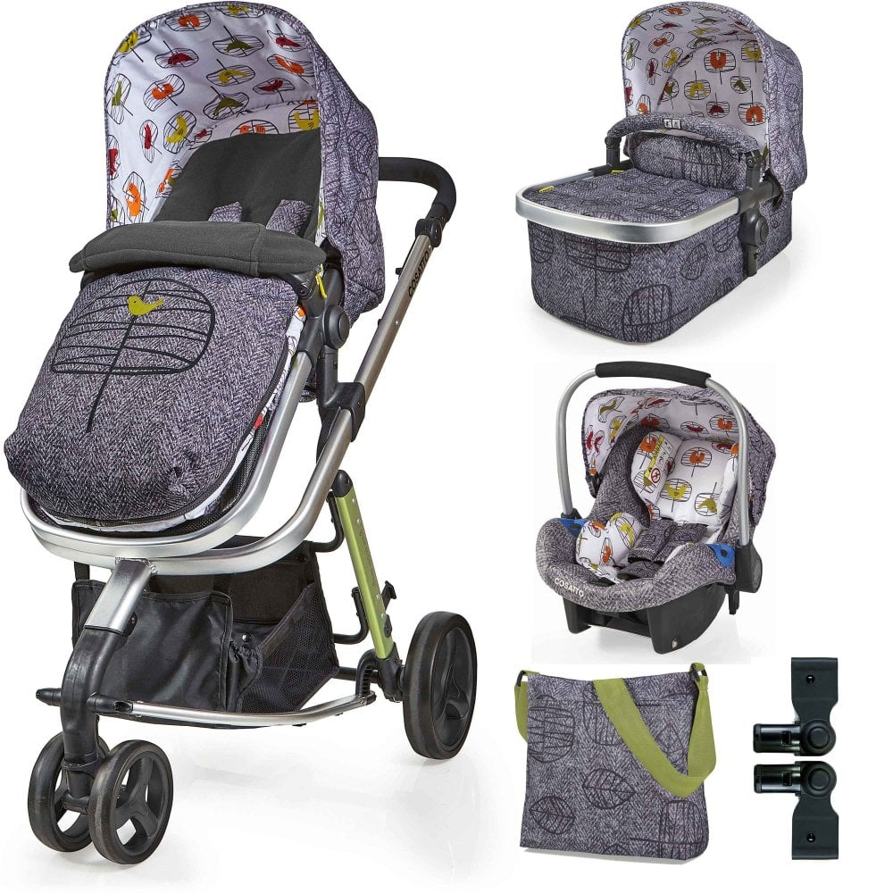 Baby Travel Systems Northern Ireland Cosatto Cosatto Giggle 2 Travel System Accessories Bundle Dawn Chorus