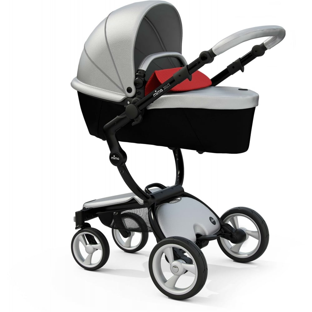 Mima Xari Seat Box 2 Snow-white Mima Xari Pushchair Argento Available At W H Watts Nursery Store