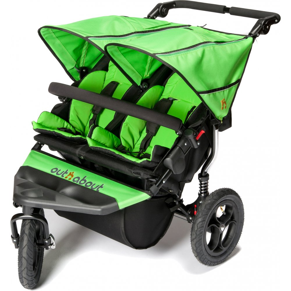 Double Buggy Out N About Out 39;n 39; About Nipper Double 360 V4 Pushchair