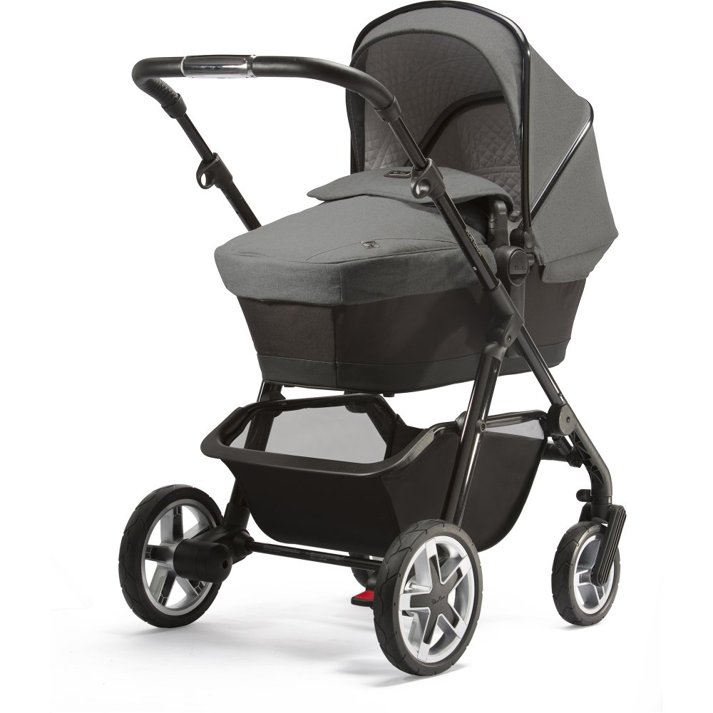 Mima Pram Price Uk Silver Cross Pioneer Eton Grey Special Edition Pram At W H