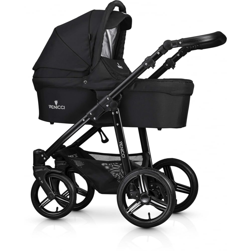 Joolz Pram Accessories Venicci Soft All In One Pram Black From W H Watts Store