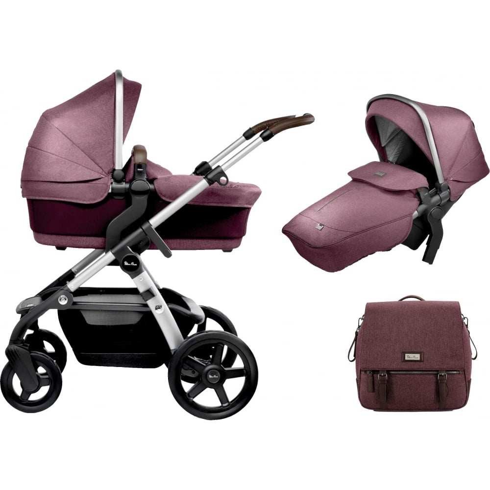 Joolz Pram Accessories Silver Cross Wave Claret Bundle Offer 2 From W H Watts