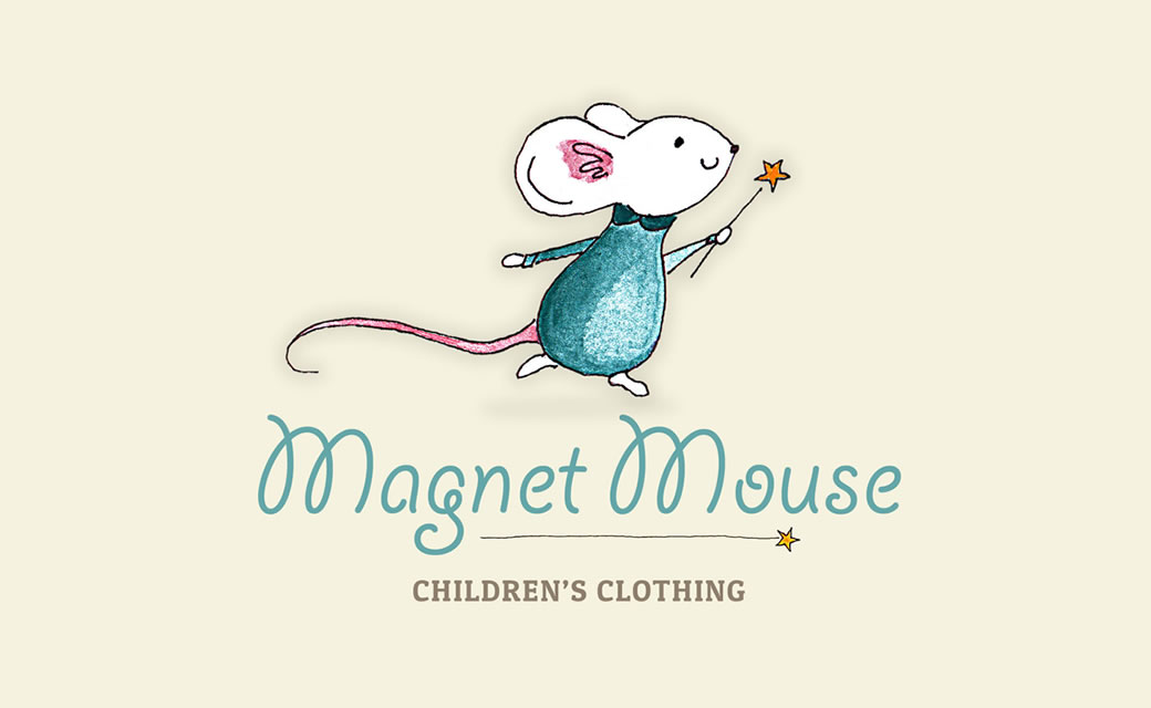 Magnet Mouse Logo design