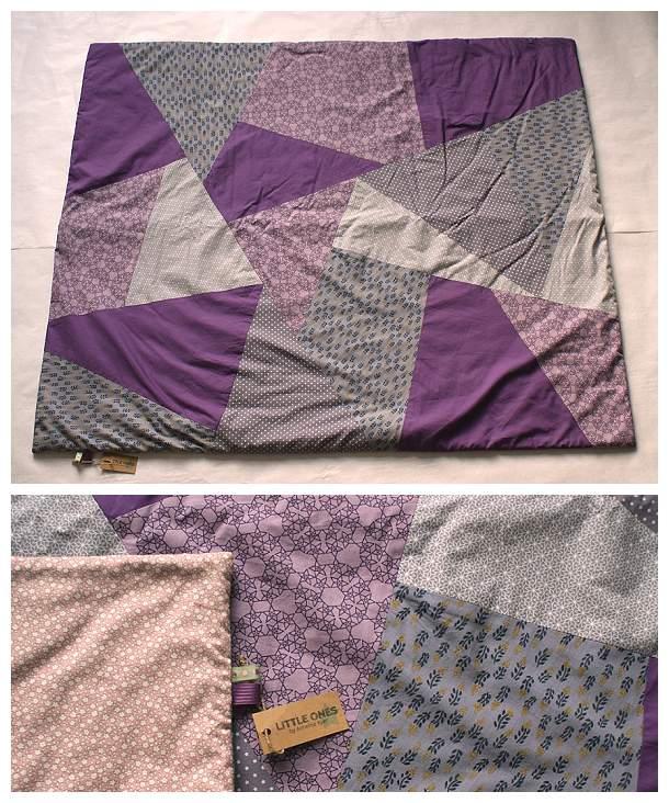 Patchwork-tæppe