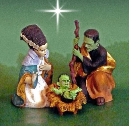 frankenstein nativity