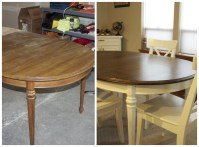 Refinished Kitchen Table | Why Not Give It a Try?