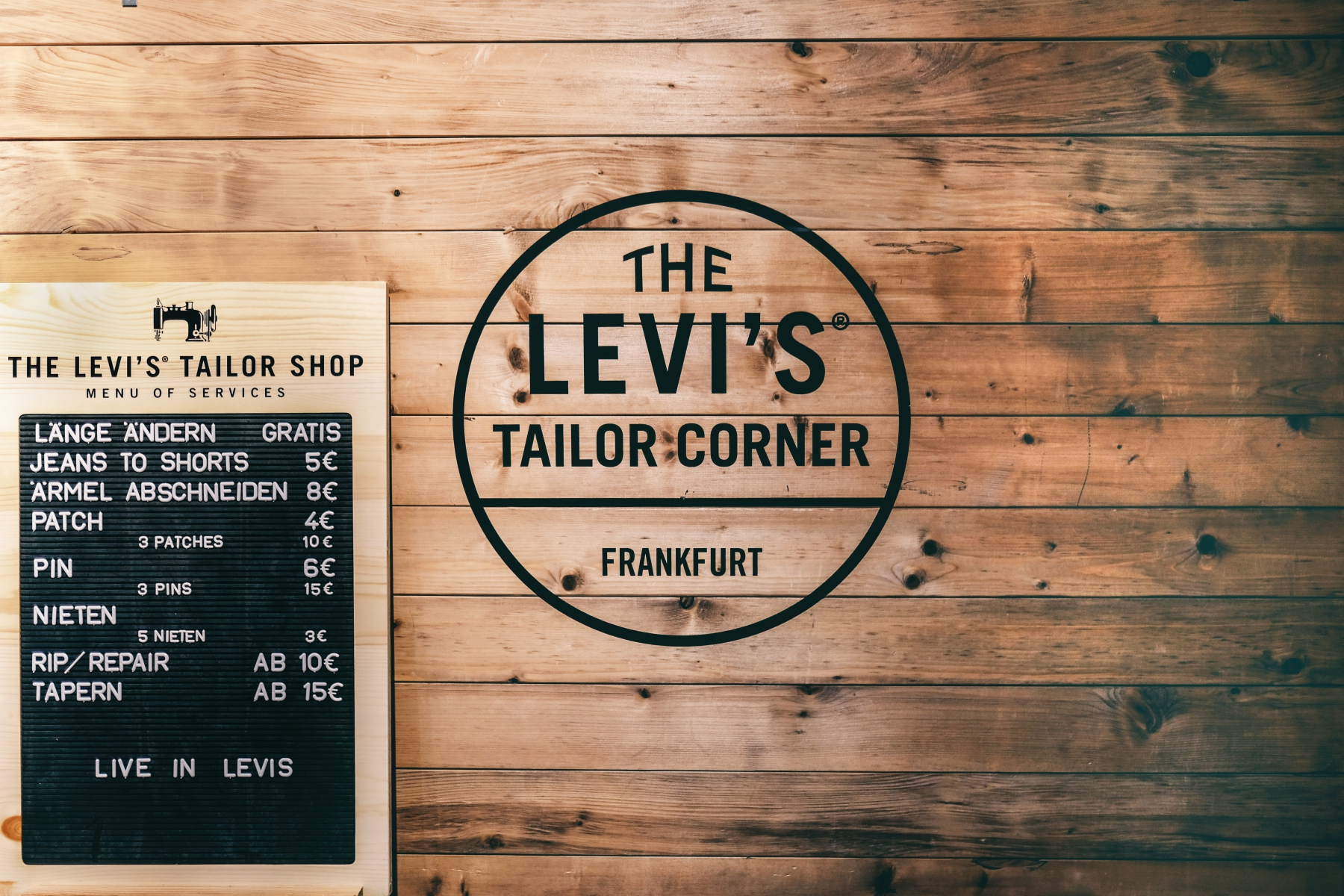 Levis Frankfurt The Tailor Shop Whysheckler