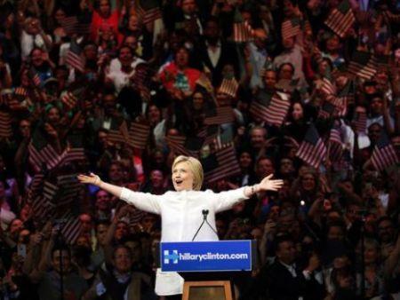 Victory!Clinton