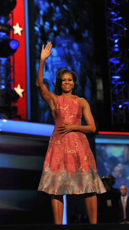 In Tracy Reese at the Democratic National Convention in September 2012. (Photo: Jack Gruber, USAT)