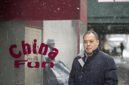 Albert Wu, the son of China Fun's owners, said the small business was impossible to maintain under a mountain of bureaucratic regulations. (HOWARD SIMMONS/NEW YORK DAILY NEWS)
