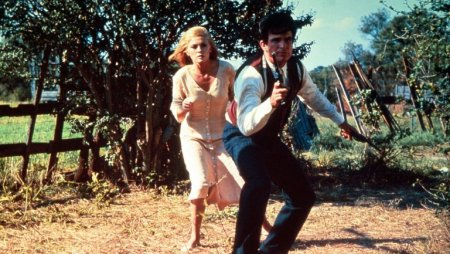 Photofest Faye Dunaway and Warren Beatty in 'Bonnie and Clyde'