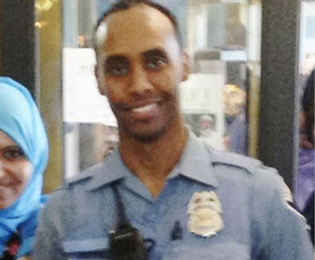 In this May 2016 image provided by the city of Minneapolis, police officer Mohamed Noor poses for a photo at a community event welcoming him to the Minneapolis police force. (AP)