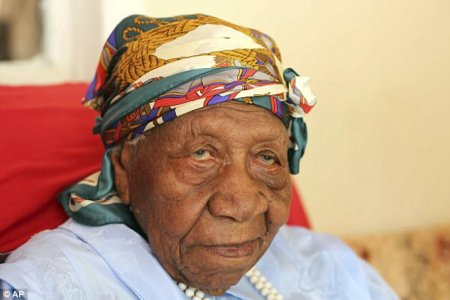 Violet Mosse Brown (pictured) has died in Jamaica aged 117. She became the world's oldest person in April this year after the death of fellow 117-year-old Emma Morano, from Italy