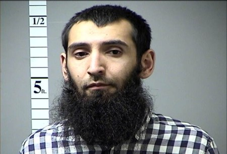 Sayfullo Saipov, the suspect in the attack.