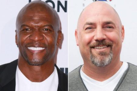 Terry Crews and Adam Venit Getty Images