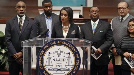 North Texas NAACP officials address the decision.