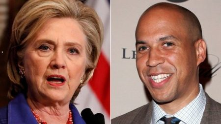"Sen. Cory Booker didn't want to discuss Hillary Clinton's recent controversial comments during Monday's appearance on ""The View."""