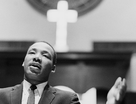 Dr. Martin Luther King Jr. (Dozier Mobley/Getty)